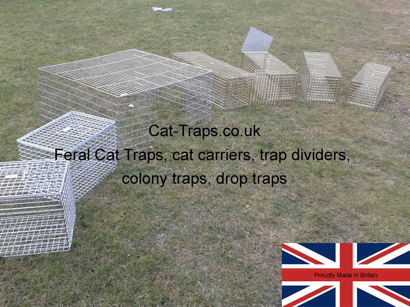 cat-traps.co.uk product line up